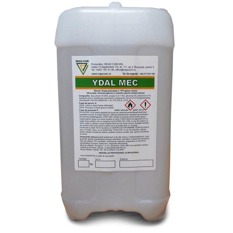 YDAL MEC- Dezinfectant pentru suprafete tari, curate, neporoase